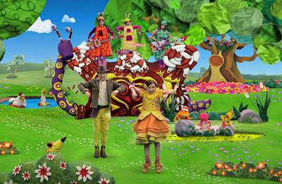 El jardin de clarilu 3 temporada estreno for Cancion el jardin de clarilu