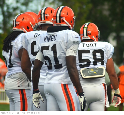 'Cleveland Browns Defense' photo (c) 2013, Erik Drost - license: http://creativecommons.org/licenses/by/2.0/