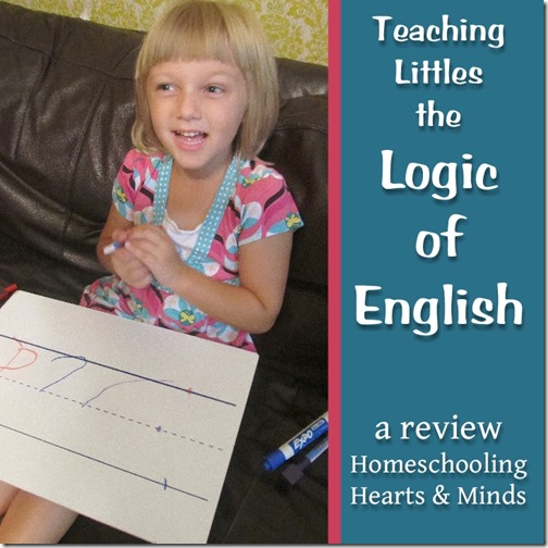 Review of Logic of English's Foundations A @ Homeschooling Hearts & Minds
