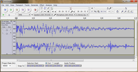 audacity how to make sound more crisp