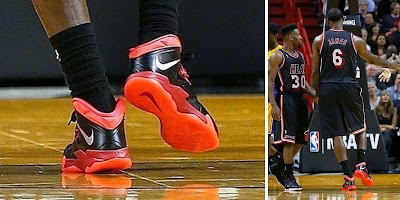 nike zoom soldier 7 pe timeline 140123 shoe soldier7 bred King James and His 26 Different Nike Zoom Soldier VIIs in 2013 14