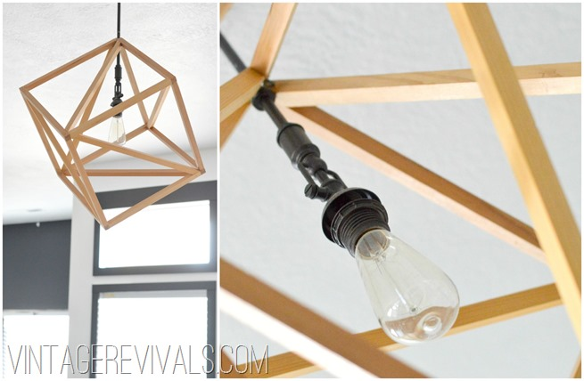 DIY Openwork Light 