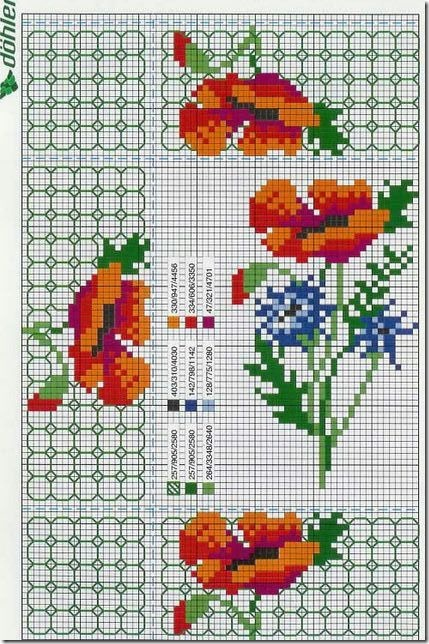 Ponto Cruz-Cross Stitch-Punto Cruz-Punto Croce-Point de Croix-265