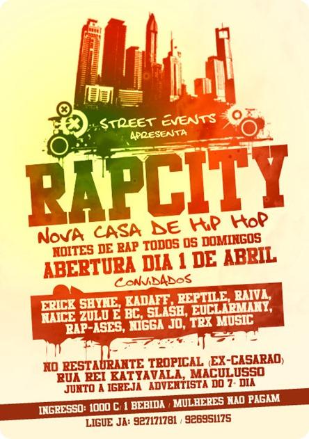 cartaz rap city