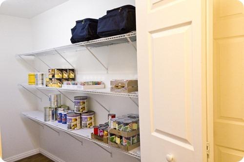 Food Storage Room Shelving