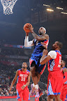 lebron james nba 130217 all star houston 53 game 2013 NBA All Star: LeBron Sets 3 pointer Mark, but West Wins