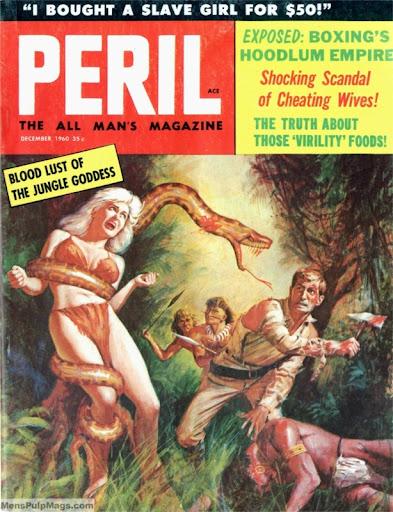 Busty girl in peril