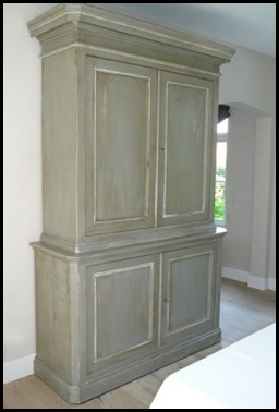 French 19th century cupboard