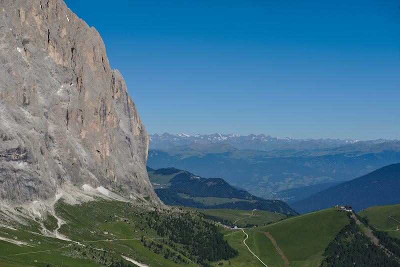 Alpii inzapeziti dinspre Austria.