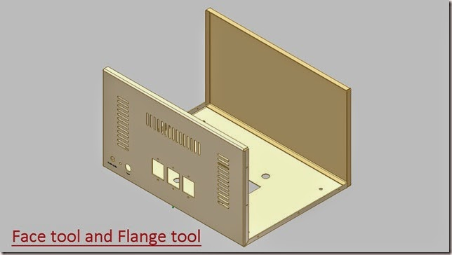 Face tool and Flange tool