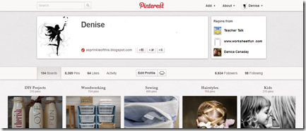 personal pinterest