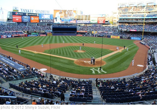 'Yankee Stadium' photo (c) 2012, Shinya Suzuki - license: https://creativecommons.org/licenses/by/2.0/