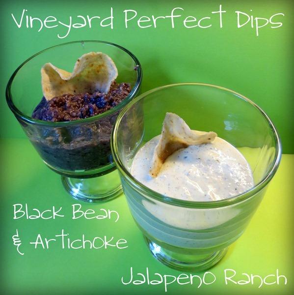 Vineyard-Dips-Black-bean-artichoke-jalapeno-ranch