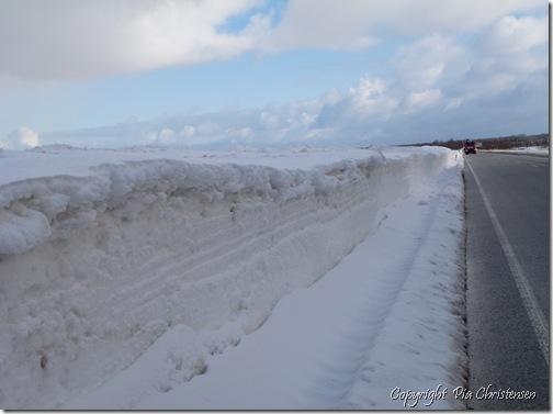 Snemængder marts 2013