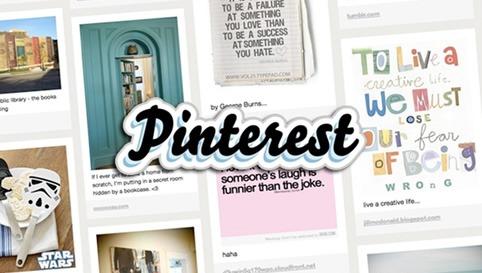 Nueva interfaz de Pinterest