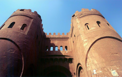 Bab al-Futuh in Cairo, late 11th century.