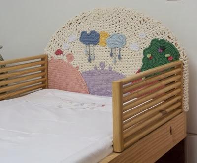 cabeceira cama menina