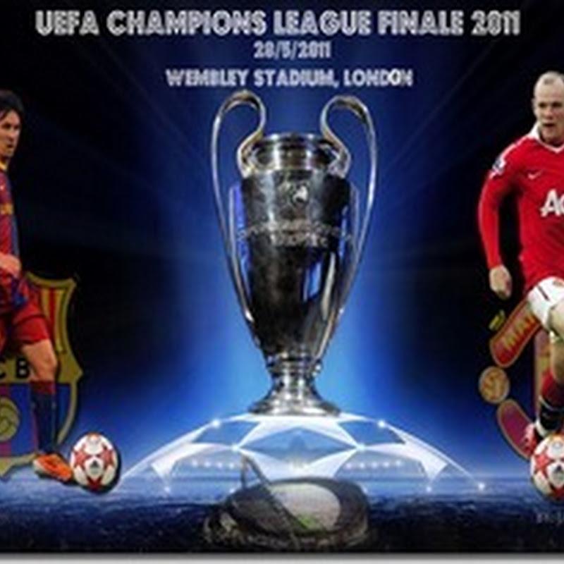 KEPUTUSAN PENUH LIGA JUARA-JUARA EROPAH BARCELONA VS MANCHESTER UNITED | UEFA CHAMPIONS LEAGUE FINALE 2011 29/5/2011