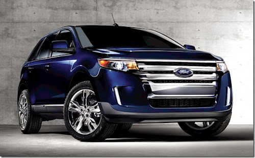 Crossover Ford Edge 2012 com e sem tração só dianteira
