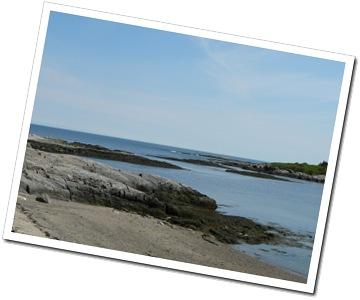 Bailey's Island coast