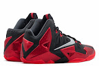 nike lebron 11 gr black red 9 03 New Photos // Nike LeBron XI Miami Heat (616175 001)