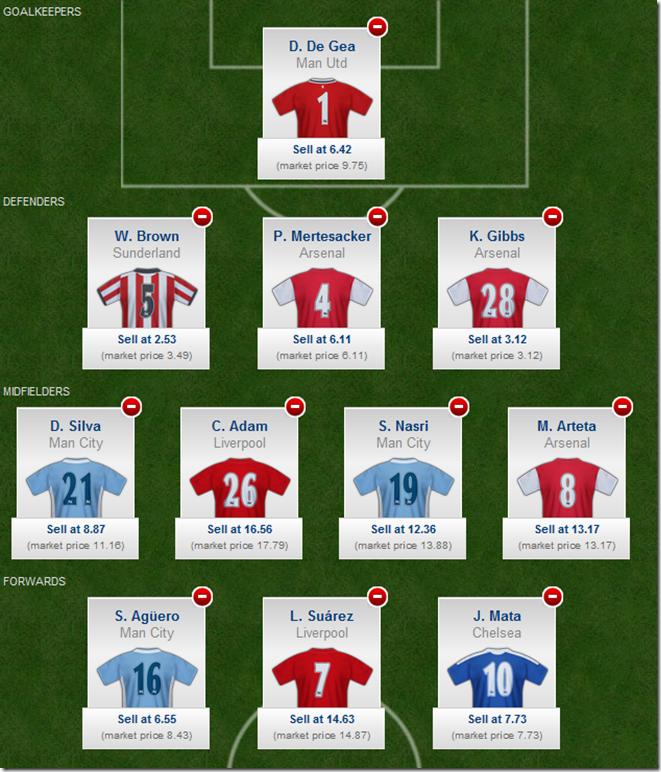 YFF Week 4 Line-up
