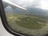 Approaching Mulu landing strip (copyright Dan Quinn / Royal Geographical Society (with IBG) September 2014)