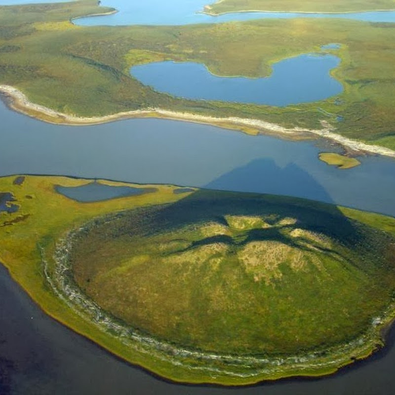The Pingos of Tuktoyaktuk