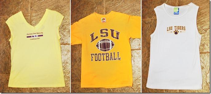 LSU shirts