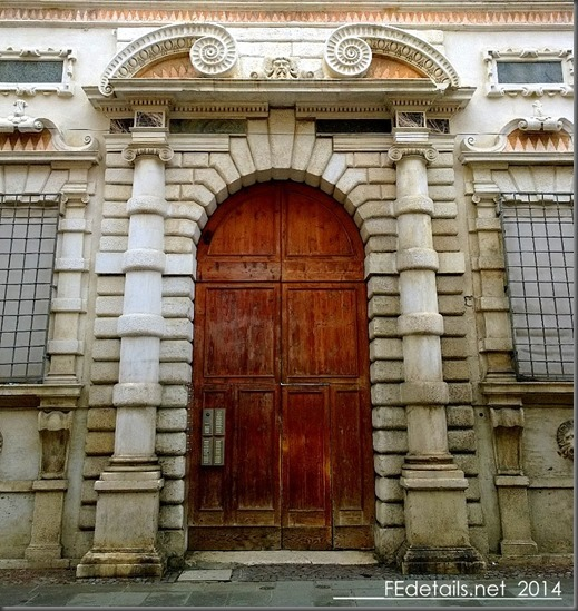 Palazzo Bentivoglio, Ferrara, Italy, Photo2