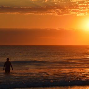 Mas alla del mar by Alighieri Rizo - Landscapes Sunsets & Sunrises ( sunset, pacifico, sea, pacific, ocean, mar, atardecer, oceano, puesta de sol )