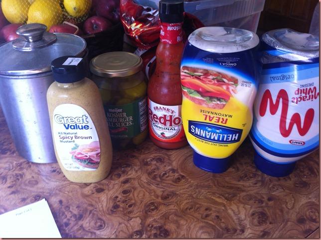 sauce ingred