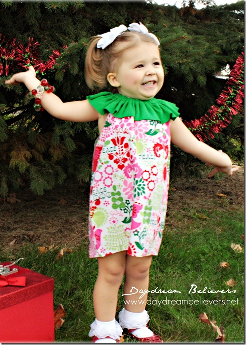 the betty vintage inspired holiday dress for girls