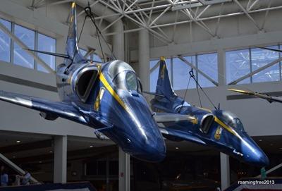 Blue Angels in the Atrium