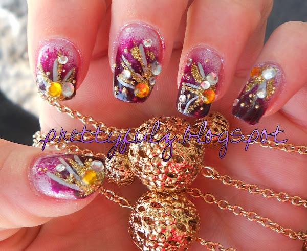 Cutepurplenailart3 Cute Purple Nail Designs