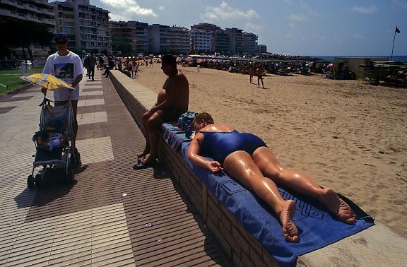 Platja de Llevant Salou, Tarragonès, Tarragona 1995
