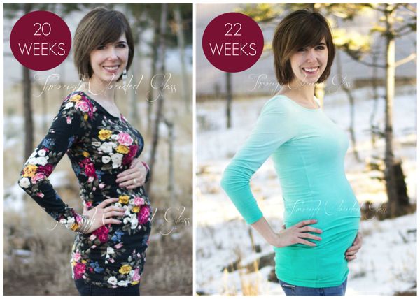 22 Weeks Pregnant (Baby #3 - BOY!) | Through Clouded Glass