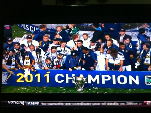 Los Angeles Galaxy CAMPEON!!