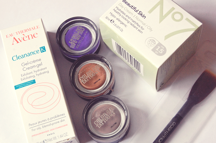 haul maybelline color tattoos