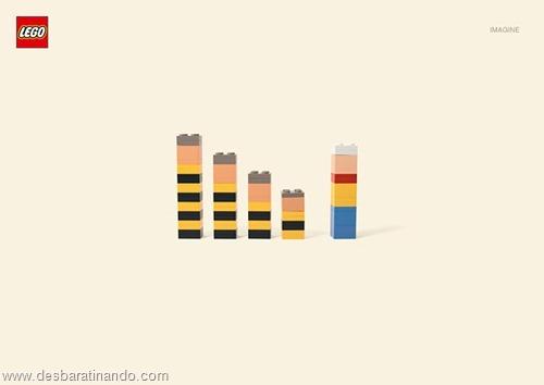 lucky luke daltons  lego minimalista
