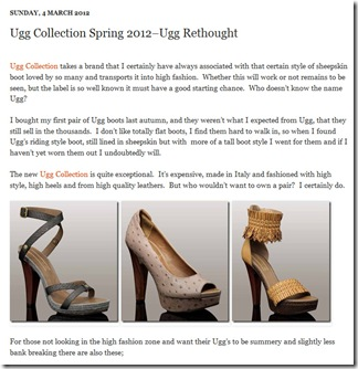 Ugg Collection - Ugg Rethought