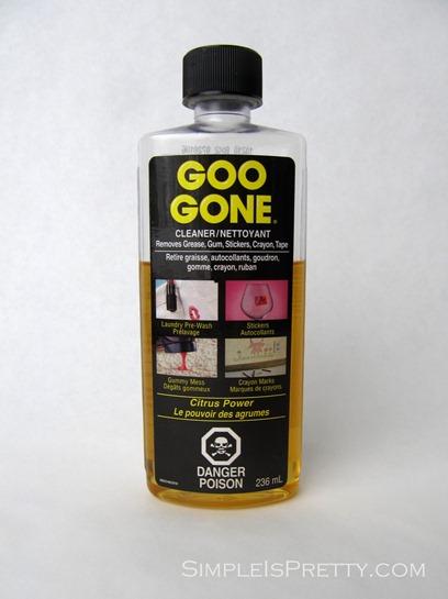 simpleispretty.com: Goo Gone