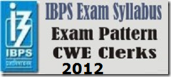 IBPS-clerks-exam-syllabys-2012