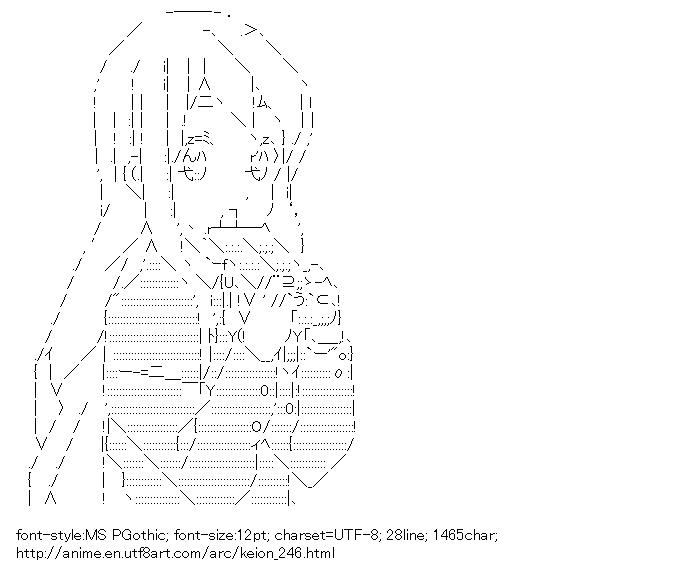 [AA]Kotobuki Tsumugi (Keion!)