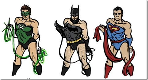 Male Superheroes