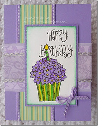 ScrapbookSisters cupcake