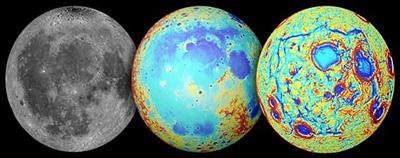 mapa da Lua
