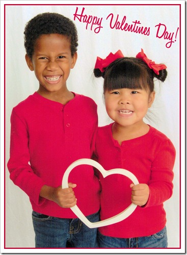 Feb 2013 Kids Heart - Valentines
