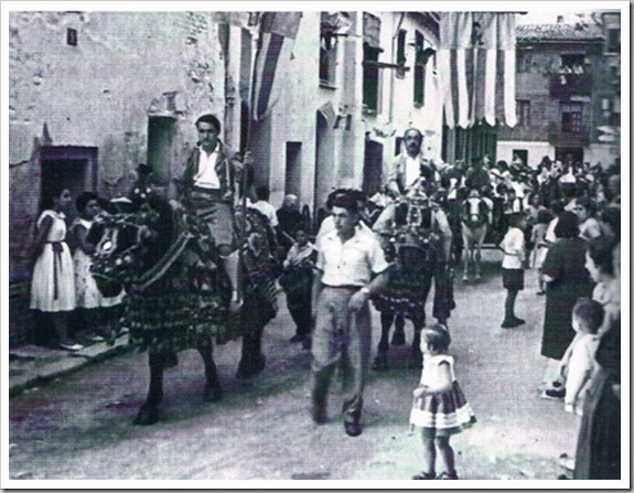 Fiesta Virgen del Carmen de Ruzafa. 1955