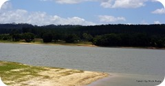 Lake Tinaroo, looking across to  Fongon Bay